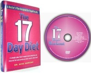 17 day diet DVD set