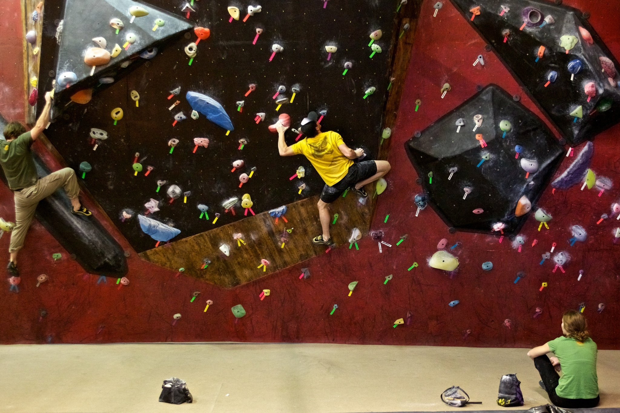 bouldering and the importance of moderation