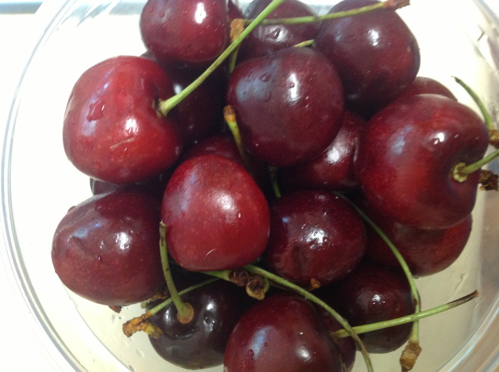 cherries are YUM